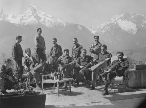 "The Band of Brothers near the ""Eagle's Nest"""