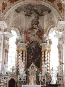 Bavarian baroque style church