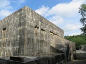 Massive German V2 bunker in France