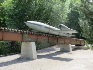 V2 launching ramp in France